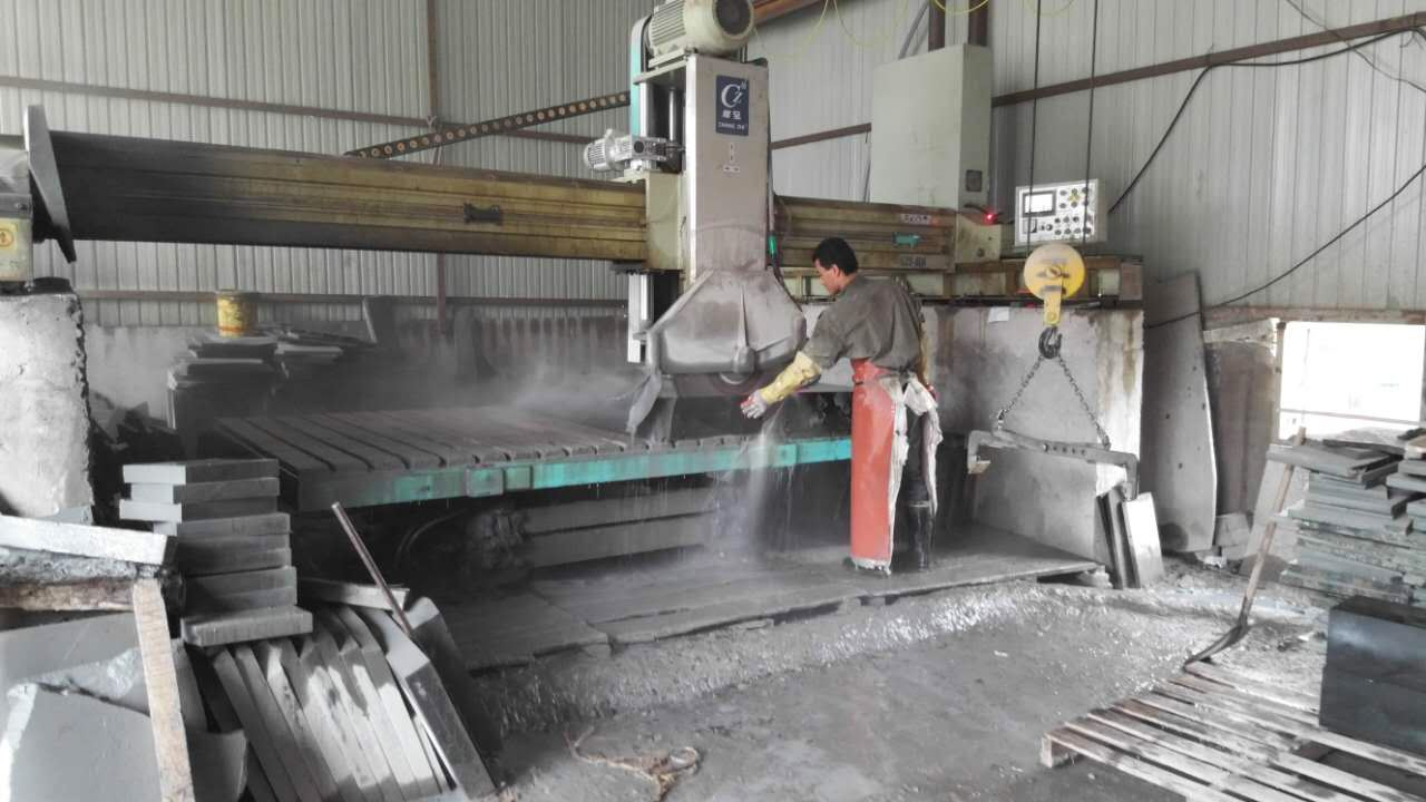 Stone processing wastewater